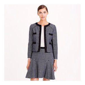 J. CREW NWT Striped Tweed Cropped Jacket